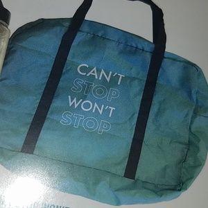 "Handbags - ""Can't Stop Won't Stop"" duffle bag"